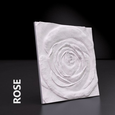 Panel 3D NordGips - Rose - Najtaniej! - Yourdecor.pl
